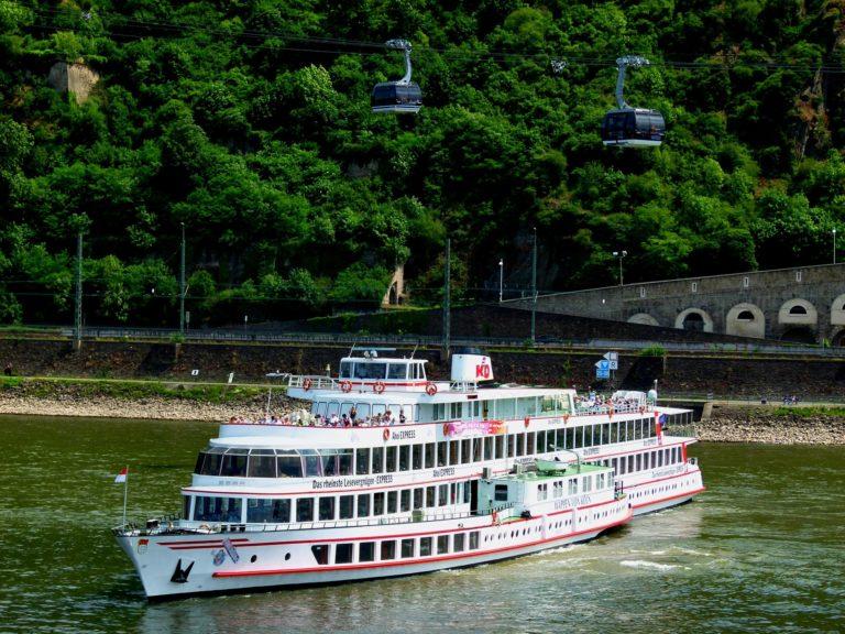 Boat trip on the Rhine